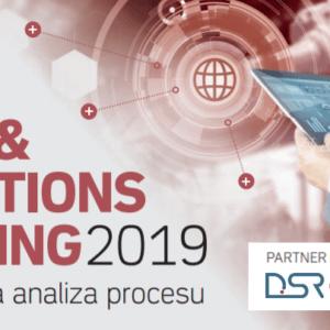 DSR partnerem merytorycznym naSales&Operations Planning 2019