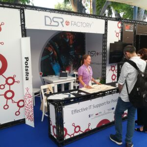 Stoisko DSR na Innovation Festival w Tel Avivie