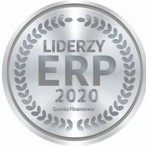 Lider ERP - logotyp - wyróżnienie dla DSR