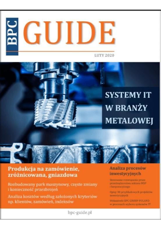 BPC GUIDE - systemy IT wbranży metalowej
