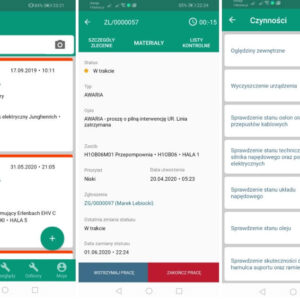 EAM 4FACTORY - aplikacja natelefon